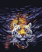 """Картина по номерам """"Тигр"""" (400x500 мм; арт. MG308)"""