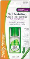 """База и верхнее покрытие для ногтей 2в1 """"Nail nutrition green tea + bamboo nail strengthener"""" (13 мл)"""