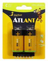 Батарейка алкалиновая SmartTrack Atlant LR14/2B (24/192) (2 шт.; STBA-C02B)