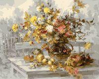 """Картина по номерам """"Осенний букет"""" (400х500 мм; арт. GX8013)"""