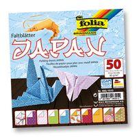 """Бумага цветная для оригами """"Япония"""" (100х100 мм; 50 листов)"""