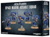 Warhammer 40.000. Space Marines. Assault Squad (48-09)