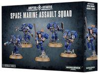 Warhammer 40.000. Space Marines. Assault Squad (48-09)