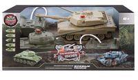 """Игровой набор """"Танковый бой. Т34 vs Abrams M1A2"""" (со световыми и звуковыми эффектами; арт. 870236)"""