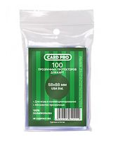 """Протекторы """"Card-Pro. USA Std"""" (58х88 мм; 100 шт.)"""