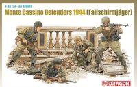 "Набор миниатюр ""Monte Cassino Defenders 1944 - Fallschirmjager"" (масштаб: 1/35)"