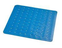 """Коврик для ванной резиновый """"Волна"""" (54х54 см; голубой)"""