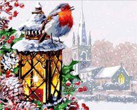 """Картина по номерам """"Рождественская песня"""" (400х500 мм)"""