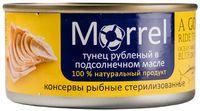 """Тунец консервированный рубленый """"Morrel. В подсолнечном масле"""" (185 г)"""