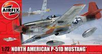 "Истребитель ""North American P-51D Mustang"" (масштаб: 1/72)"