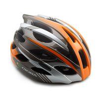 """Шлем велосипедный """"WT-016"""" (черный/оранжевый/серый)"""