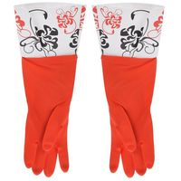 Перчатки кухонные с манжетой красные (арт. 29389)