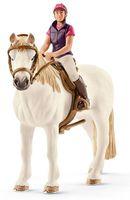 "Фигурка ""Конкуристка с лошадью"""
