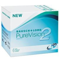 """Контактные линзы """"Pure Vision 2 HD"""" (1 линза; +3,0 дптр)"""