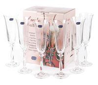 """Бокал для шампанского стеклянный """"Angela"""" (6 шт.; 190 мл; арт. 40600/1/190)"""
