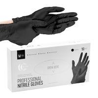 Перчатки одноразовые нитриловые (M; 50 шт.)