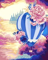 "Картина по номерам ""Воздушный шар"" (400х500 мм)"