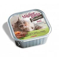 """Консервы для стерилизованных кошек """"Gatto"""" (100 г; курица и ягненок)"""