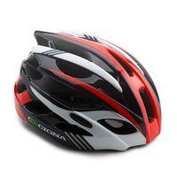 """Шлем велосипедный """"WT-016"""" (черный/красный/белый)"""