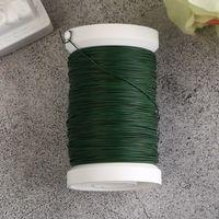 Проволока для флористики на катушке (100 м; 0,35 мм)