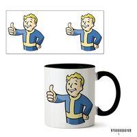 """Кружка """"Fallout"""" (арт. 109, черная)"""