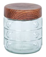 Банка для сыпучих продуктов стеклянная (1 л; арт. 10126)