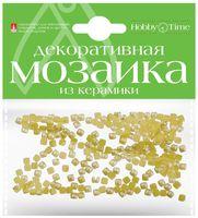 Мозаика декоративная из керамики №3 (4х4 мм; 200 шт.; желтый)