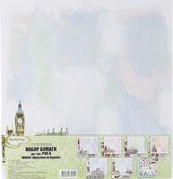 "Набор бумаги для скрапбукинга ""Прогулки по Европе"" (305х305 мм)"