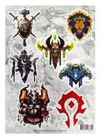 "Набор виниловых наклеек ""Blizzard №4"""