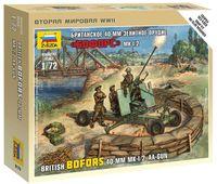 """Набор миниатюр """"Британское 40-мм зенитное орудие Бофорс МK-1/2"""" (масштаб: 1/72)"""