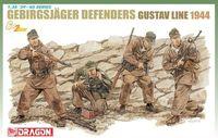 "Набор миниатюр ""Gebirgsjager Defense Gustav Line 1944"" (масштаб: 1/35)"