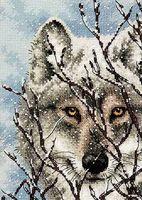 """Вышивка крестом """"Волк"""" (арт. DMS-70-65131)"""