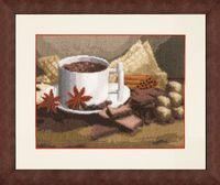 "Вышивка крестом ""Горячий шоколад"" (172х225 мм)"