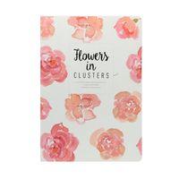 "Блокнот в линейку ""Flowers in Clusters"" (182х258 мм)"