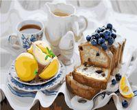 """Картина по номерам """"Утренний десерт"""" (400х500 мм)"""