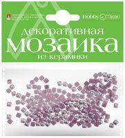 Мозаика декоративная из керамики №7 (4х4 мм; 200 шт.; лиловый)