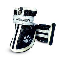 """Ботинки с """"лапками"""" (6х5,5х7 см; черные)"""