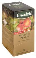 "Чай зеленый ""Greenfield. Mellow Peach"" (25 пакетиков)"