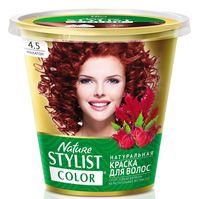 "Краска для волос ""Nature Stylist Color"" тон: 4.5, махагон"