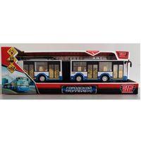 """Модель машины """"Городской троллейбус"""" (арт. TROLLRUB-30PL-BUWH)"""