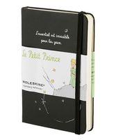 """Записная книжка Молескин """"Le Petit Prince"""" нелинованная (карманная; твердая черная обложка)"""