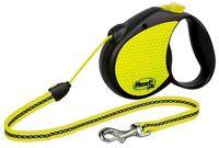 "Поводок-рулетка для собак ""Neon"" со светоотражающими элементами (размер S, до 12 кг/5 м, арт. 20923)"