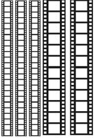 """Пленка-оверлей """"Кинопленка"""" (210х300 мм; черный)"""