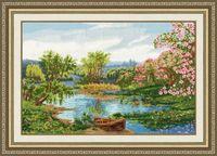 "Вышивка крестом ""Цветущая весна"" (428х276 мм)"