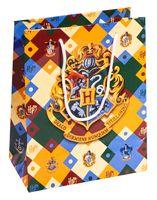 "Пакет бумажный подарочный ""Harry Potter. Герб Хогвардс"" (23х18х10 см)"