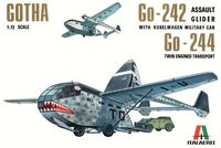 """Планер """"Gotha GO 242/244"""" (масштаб: 1/72)"""