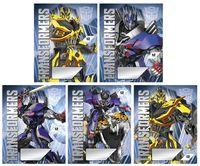 """Тетрадь в линейку """"Transformers Prime"""" 12 листов"""