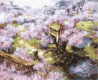 """Картина по номерам """"Весеннее цветение"""" (400x500 мм; арт. MG134)"""