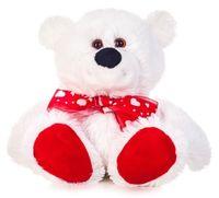 """Мягкая игрушка """"Медведь Бусик с бантом"""" (30 см)"""