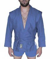Куртка для самбо AX5 (р. 38; синяя; без подкладки)